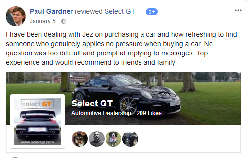select GT facebook review