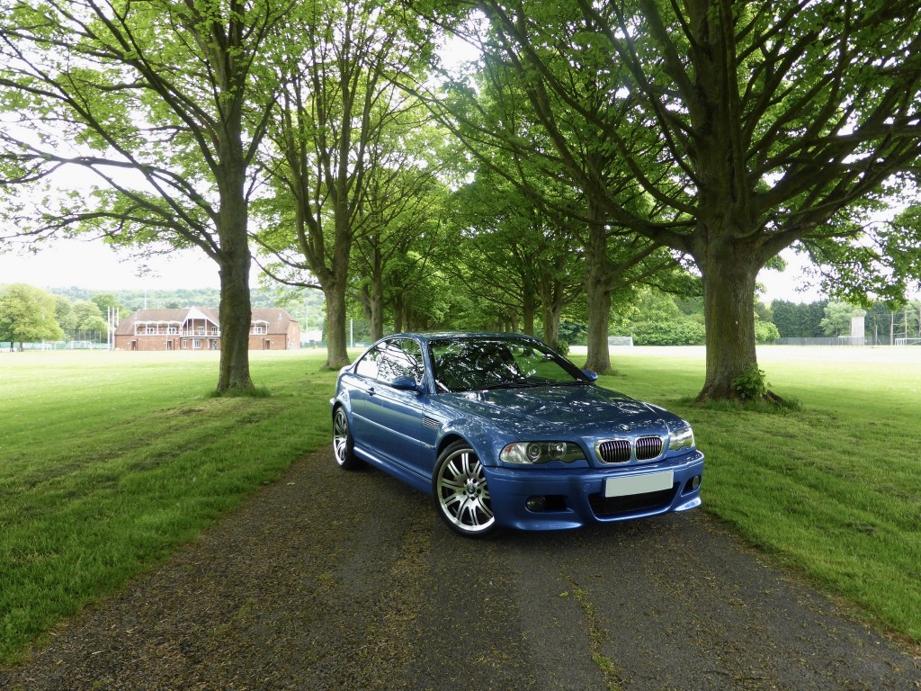 BMW M3 Estoril Blue For Sale