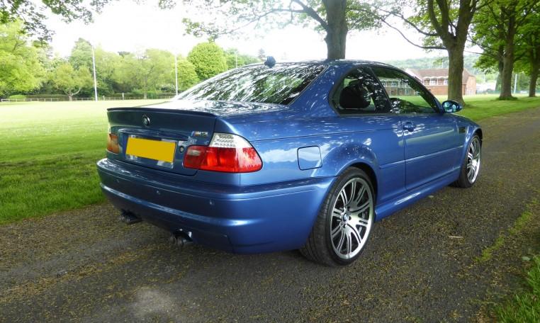 2004 BMW M3 Coupe - Estoril Blue Individual - select GT