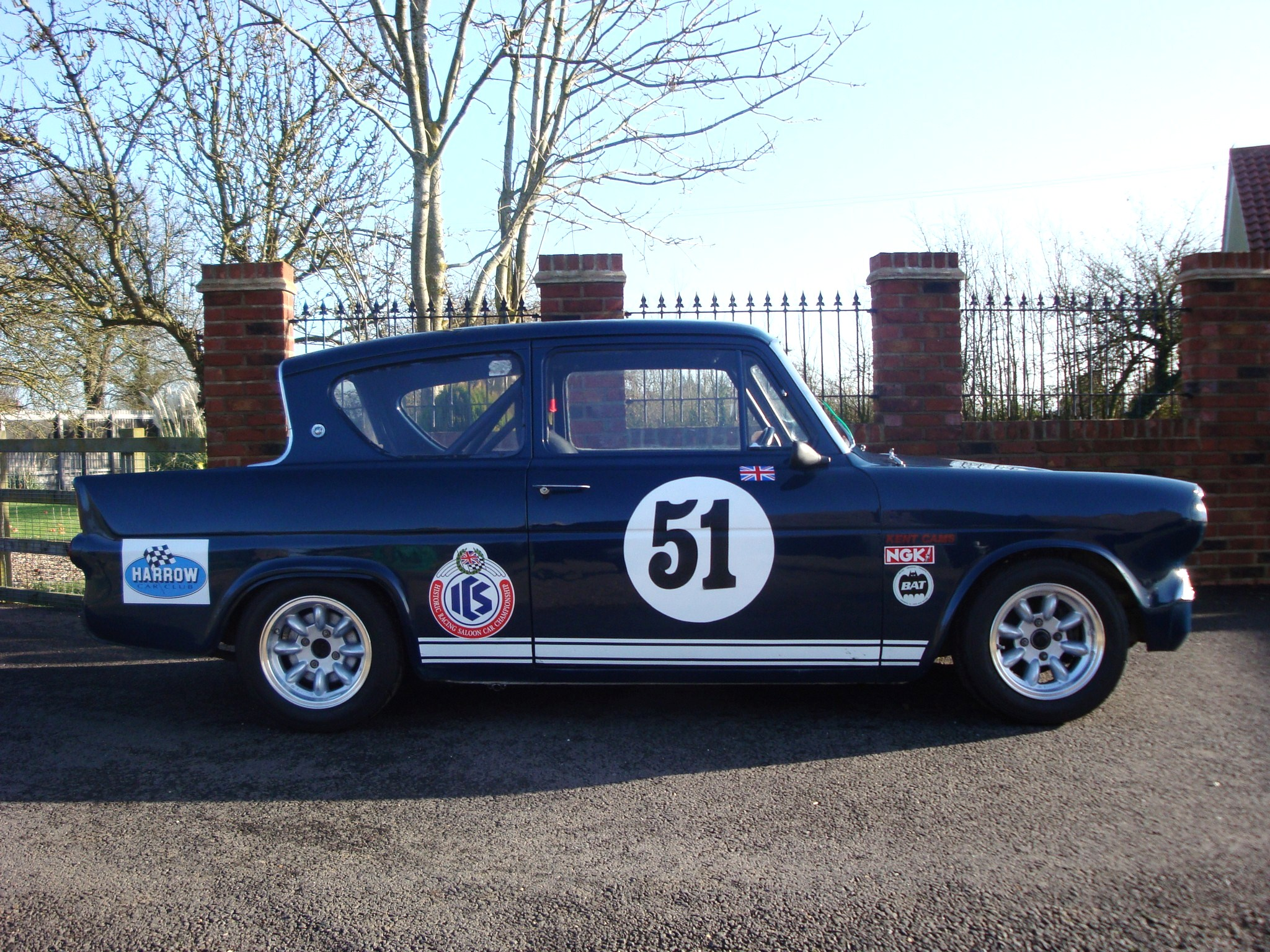Ford anglia race car